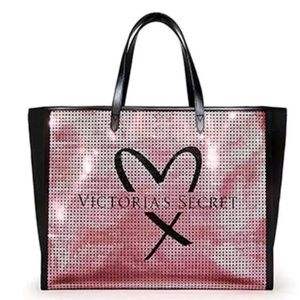 Victoria's Secret Showstopper Sequin Tote Bag